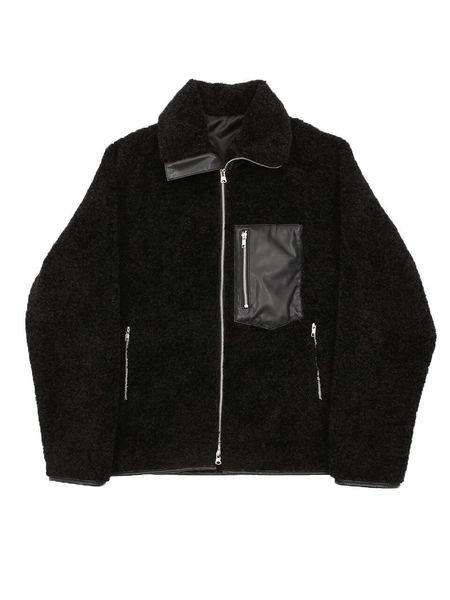 SPERONE Dumble Pocket Zip Up Jacket - Black