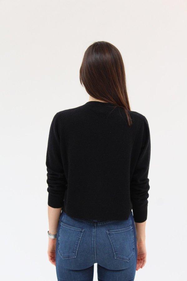 Beklina Knit Cardigan - Black / Cashmere