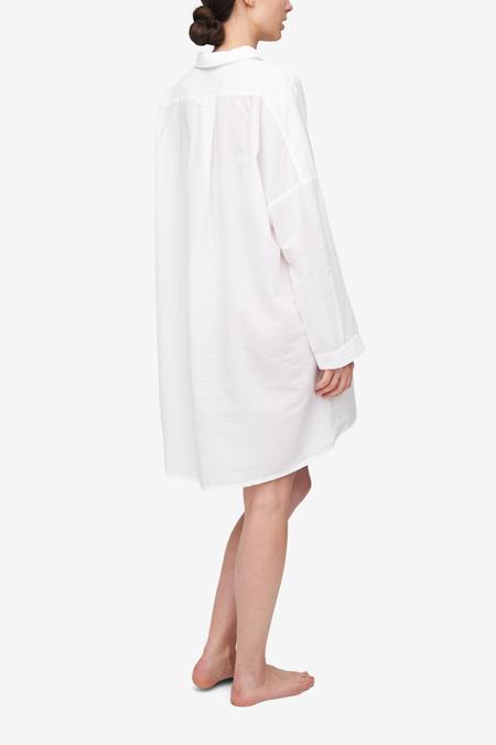 The Sleep Shirt Dropped Shoulder Milano Featherweight Blend Sleep Shirt