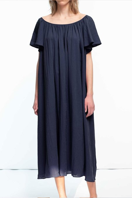 Loup Charmant Midi Hydrus Dress - Midnight