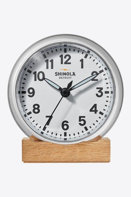 Shinola Runwell Desk Clock