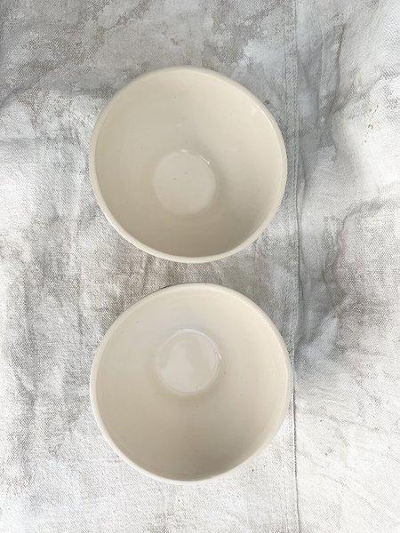 Melissa Koenig Ceramics Bowl Duo - Black/White Squiggle