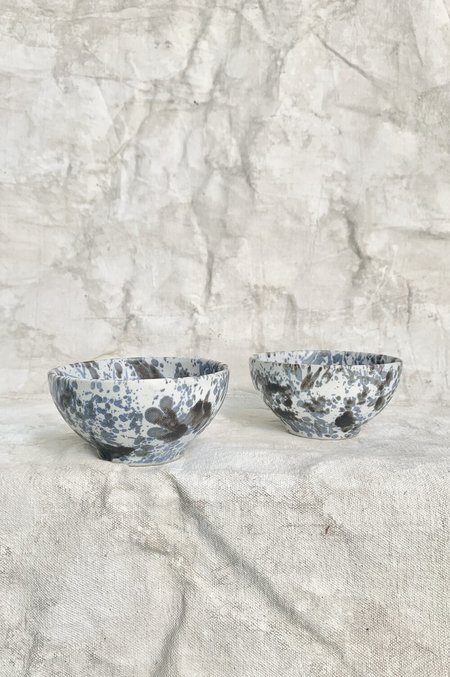 Melissa Koenig Ceramics Bowl Duo - Slate Blue