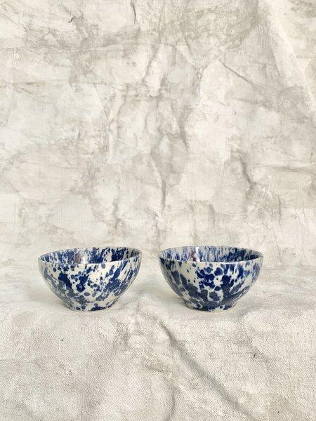 Melissa Koenig Ceramics Bowl Duo - Indigo