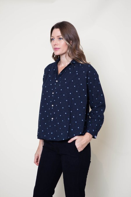 Bsbee Sandy Shirt - Navy Print