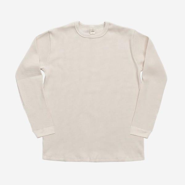 3Sixteen Long Sleeve Thermal Knit - Natural