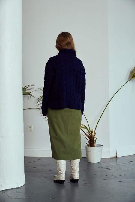 RUJUTA SHETH Misha Skirt - Olive