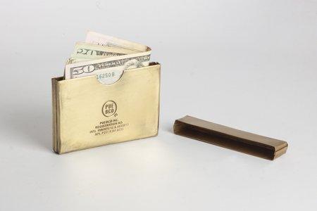 Craighill Card Case - Brass