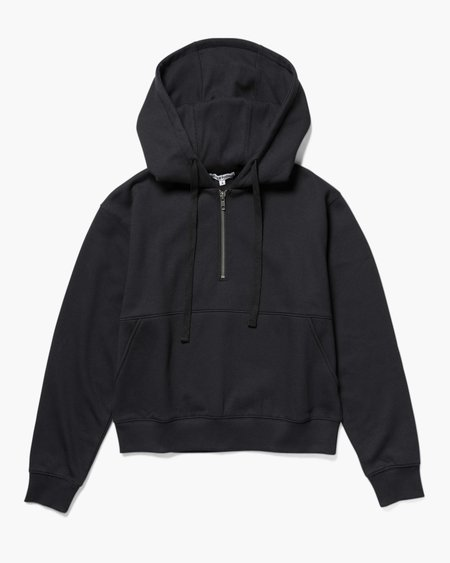 Richer Poorer Half Zip Hoodie - Black