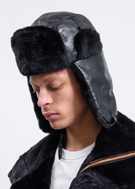 Feng Chen Wang Trapper Hat - Black