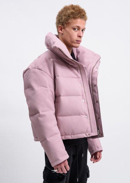 Feng Chen Wang High Neck Puffer Jacket - Rose