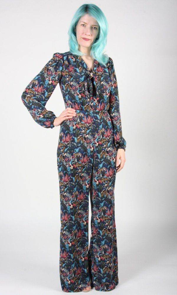 Birds of North America Thrasher Jumpsuit - Conservatory