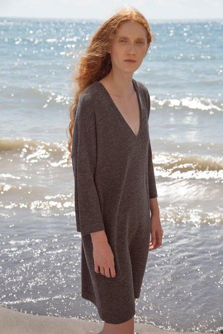 FFORM V-Dress - Charcoal