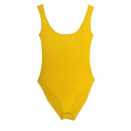 LF Markey Jerry Bodysuit - Golden Yellow