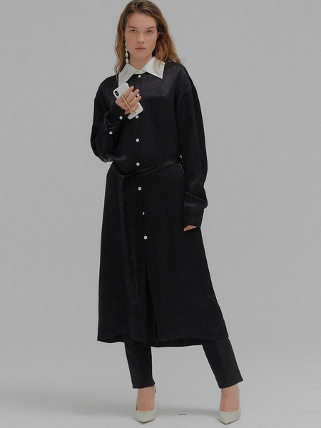 EENK Monica Long Shirt Dress
