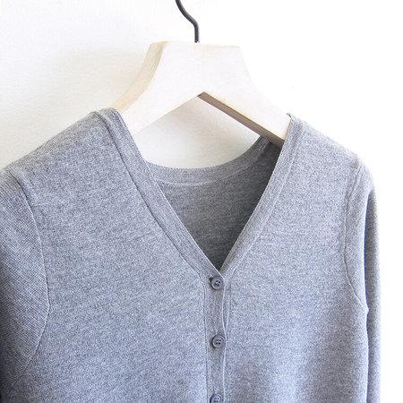CT Plage Wool Cardigan - Grey
