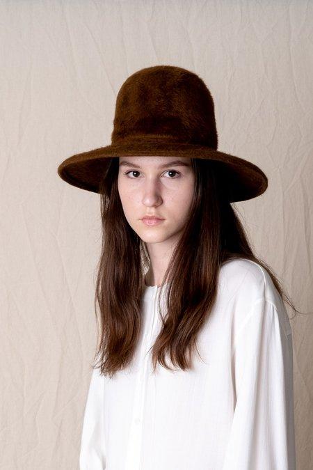 Brookes Boswell Baldwin Shag Fur Felt Hat
