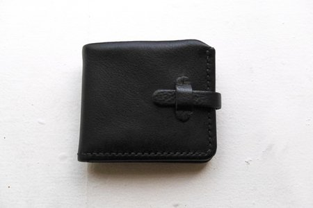 Eatable of Many Orders Short Wallet - Black