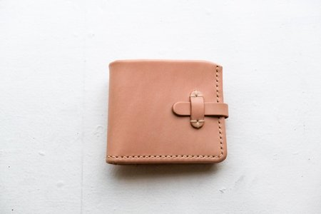 Eatable of Many Orders Short Wallet - Natural