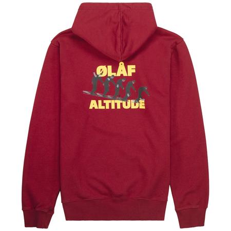 ØLÅF altitude hoodie - Maroon