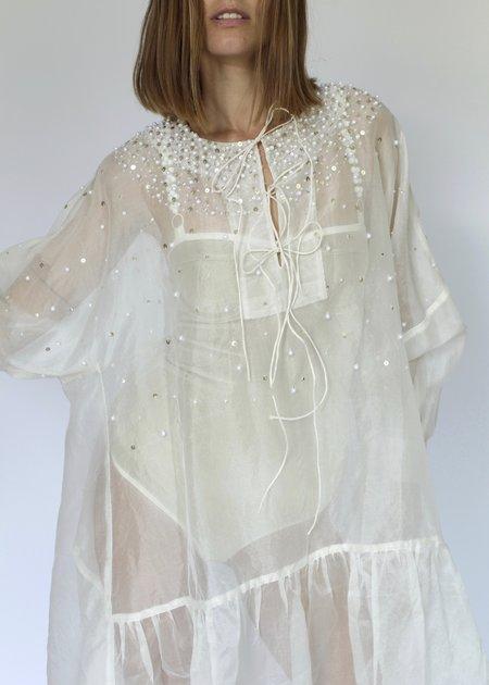 Mr. Larkin Short Nadine Dress - Beaded