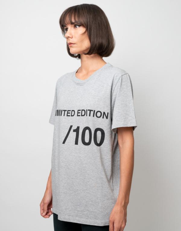 MM6 Maison Margiela Unlimited Edition Tee - Grey Heather