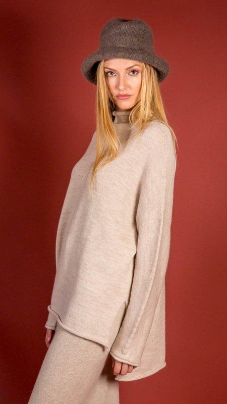 Lauren Manoogian Oversize Rollneck Sweater - Hessian