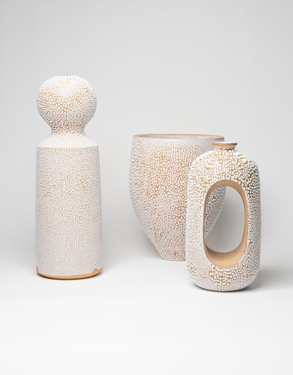 Natan Moss ceramics Ceramic Hollow Vase