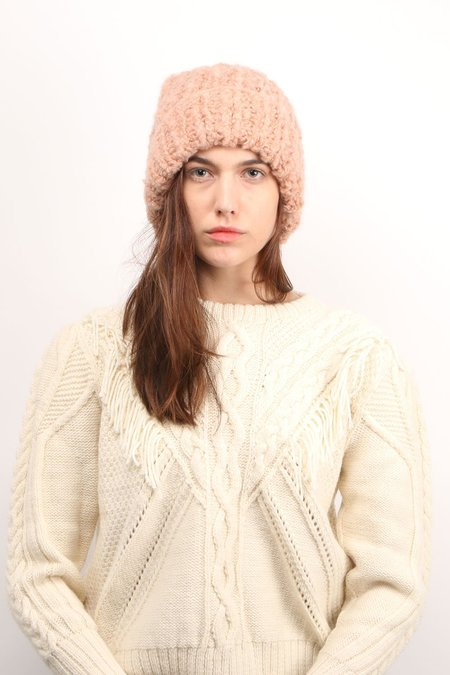 KARAKORAM ACCESSORIES Knit Beanie - Salmon