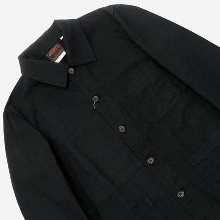 Vetra Workwear Chore Jacket - Black Dungaree Twill