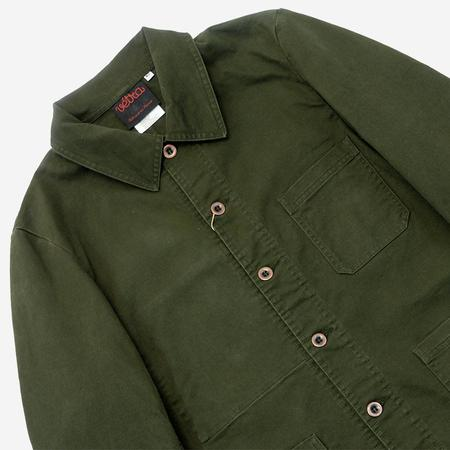 Vetra Workwear Chore Jacket - Khaki Broken Twill