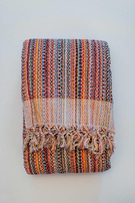 Weft End Thick Loop Blanket