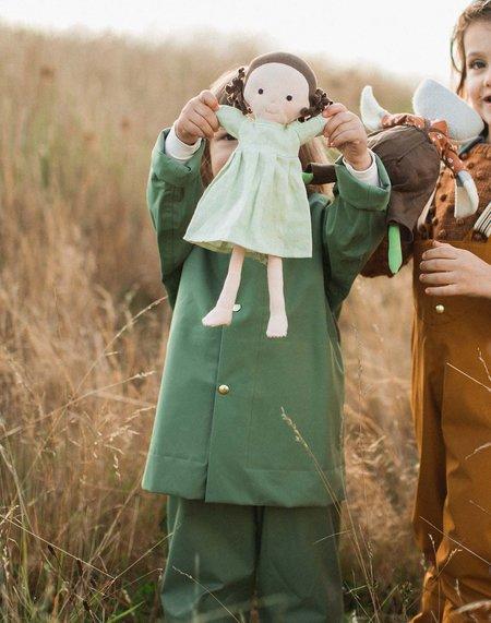 Kids Hazel Village Louise Doll - Dewdrop Linen Dress