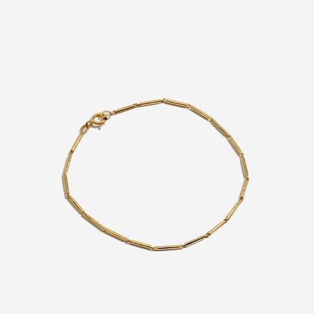 Lucy Folk onassis bracelet - 9kt gold