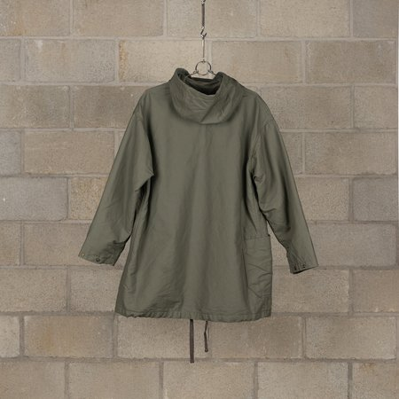 Engineered Garments Madison Cotton Double Cloth Parka - Olive
