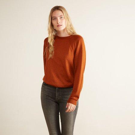 Aymara Agnes Sweater - Rust