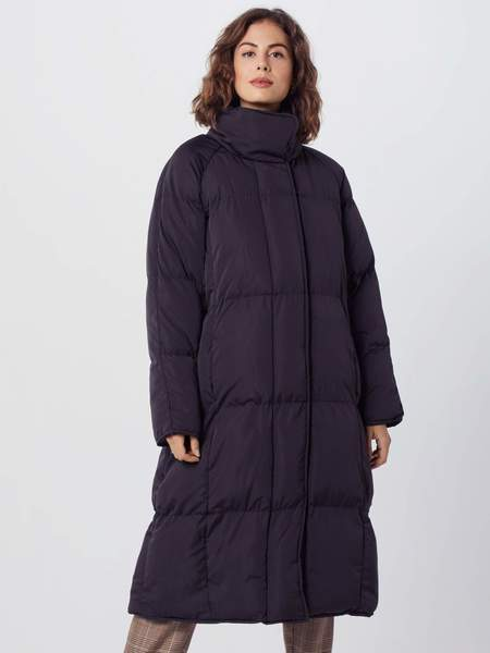 Native Youth longline puffer jacket - Black