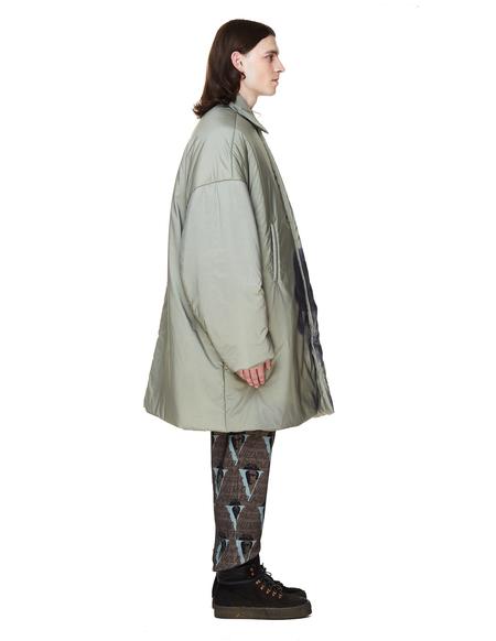 Undercover Printed Coat - Light Khaki