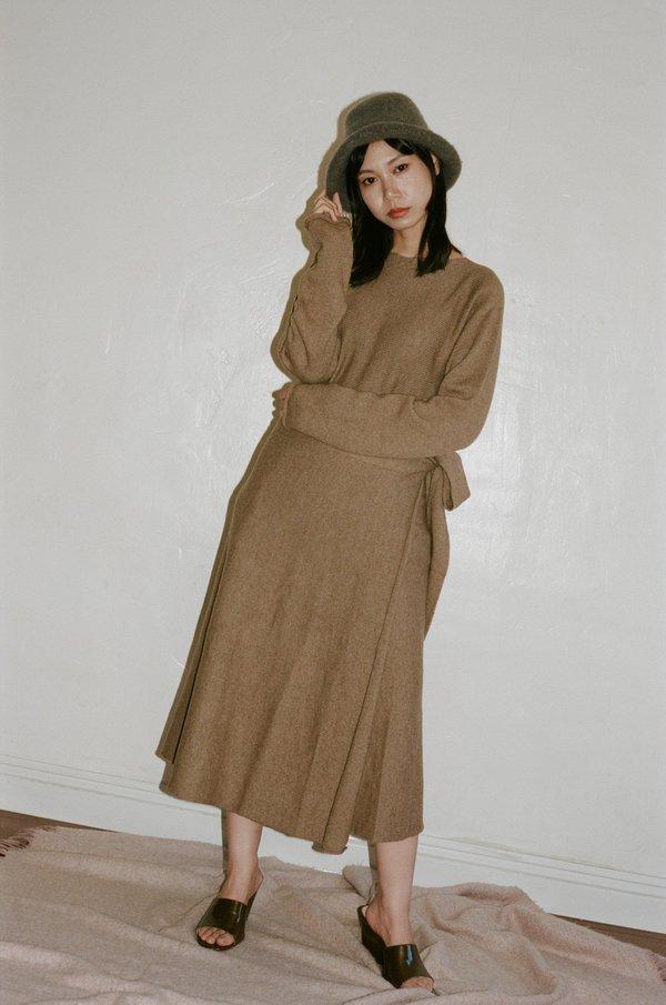 Lauren Manoogian Tie Skirt
