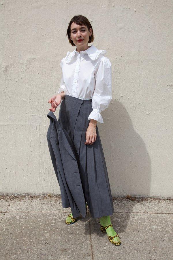 Maryam Nassir Zadeh Umbra Skirt