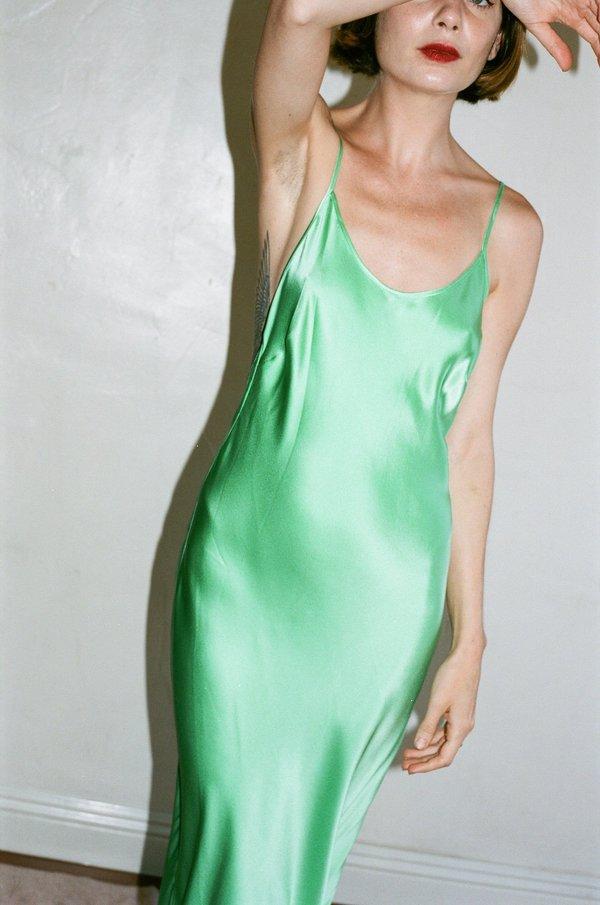 Priscavera Open Back Keyhole Dress