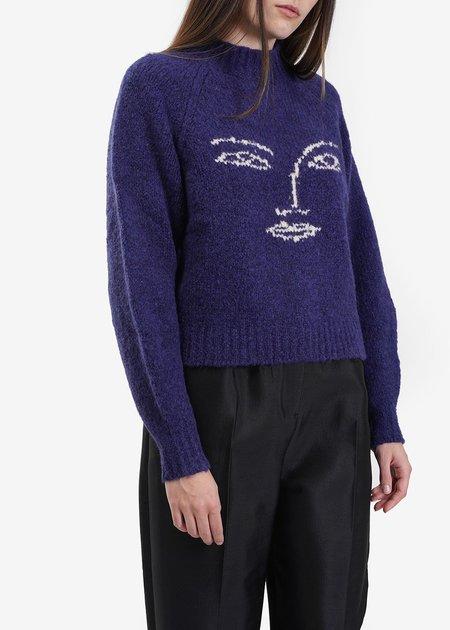 Paloma Wool Pieiro Sweater in Navy