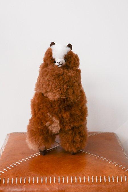 KIDS Latierra Plush Alpaca Stuffy - Brown