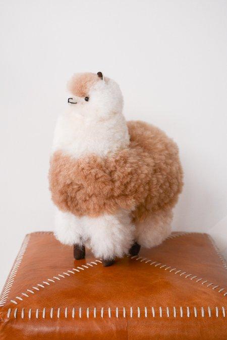 Kids Latierra Plush Alpaca Stuffy - Multi Beige