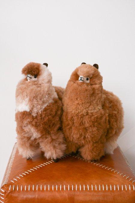 Kids Latierra Plush Alpaca Stuffy - Multi Brown