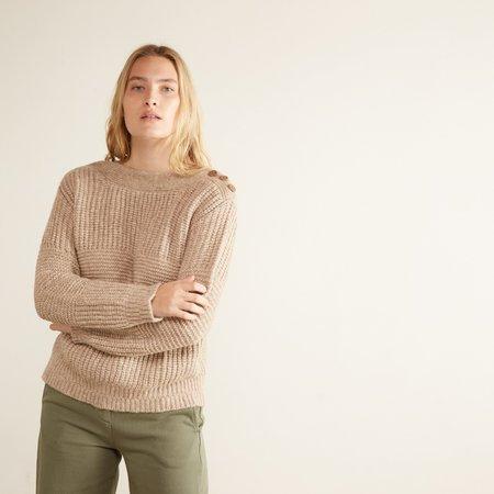 Aymara Isabelle Boatneck Sweater - Camel