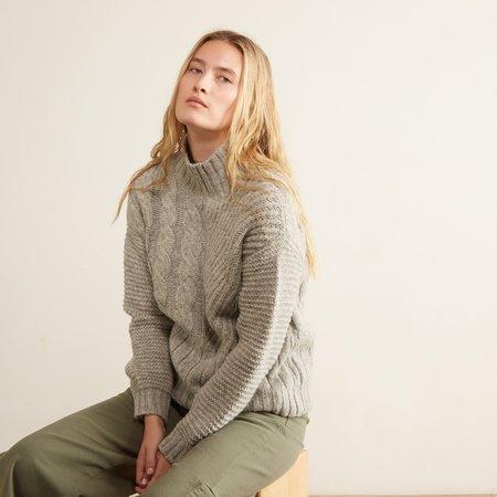 Aymara Sophie Fantasy Knit Turtleneck - Grey