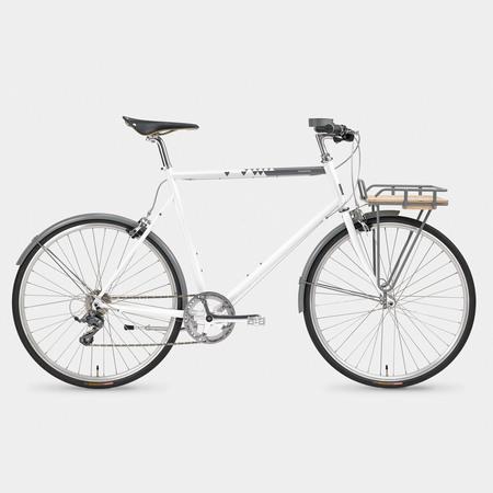 Tokyobike X Fulcrum Coffee Classic Sport Bicycle - White