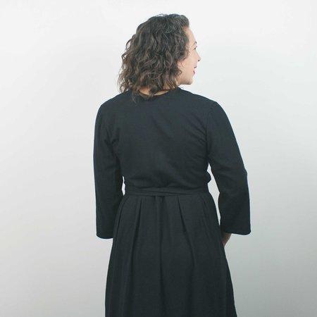 Pamut Simone Dress - Charcoal