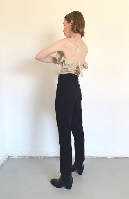 DÉSIRÉEKLEIN high waist Lotta Pants - Black Wool